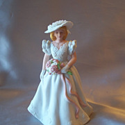 Avon Summer Bride Figurine  1986