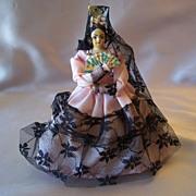 Vintage Senorita  Mexican Doll