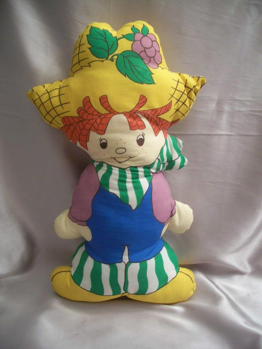 Strawberry Shortcake Huckleberry Pie Pillow Doll