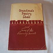 Imperial Sugar Grandma's Pantry Shelf