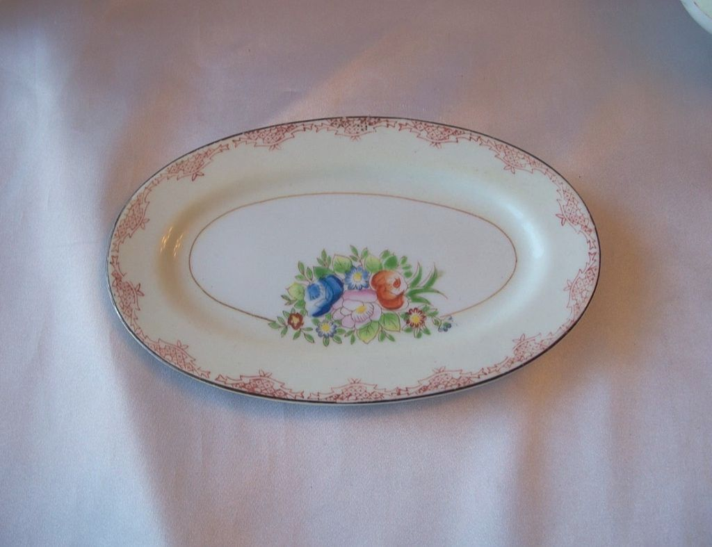 Child's Ceramic Platter Made in Japan