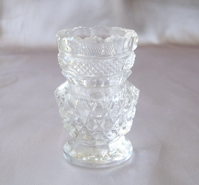 A Beautiful Crystal Toothpick Holder
