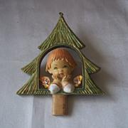 Early Fontanini Depose Christmas Ornament