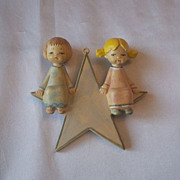 Early Fontanini Depose Italy Christmas Ornament