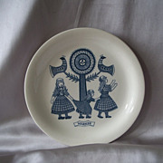 Royal Sphinx Maastricht Holland Hand Painted Plate