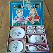 Vintage Japan Children's Seventeen Piece Tea Set