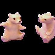 Pair of Hagen Renaker Polar Bears