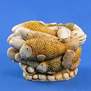 Harmony Kingdom Play School Fish Small Treasure Jest Box Prototype