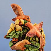 Harmony Kingdom Hummingbirds Jewels of the Wild Treasure Jest