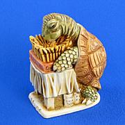 Harmony Kingdom Wishful Thinking Turtle Treasure Jest Box