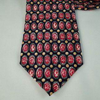 SALE Vintage Neck Tie Corpus Christi College Silk Necktie