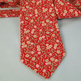 SALE Vintage Neck Tie Tango Max Raab Made in USA Cotton Necktie