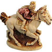 Harmony Kingdom Photo Finish Race Horses Treasure Jest Box
