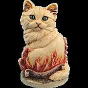 Harmony Kingdom Cosa Nostra Cat Phoenix Box Figurine