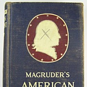 Magruder's American Government, Revised by William A. McClenaghan, Dept. of Political Science, Oregon State College, 1952