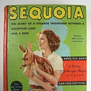 "Jean Parker ""Big Little Book"", Sequoia: The Story of a Strange Friendship Between a Mountain Lion and a Deer, with Illustrations from the Photoplay, 1935"