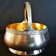 "Russian Silver ""Sugar Basket"", Post Revolution"