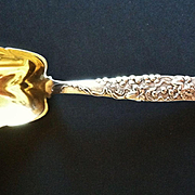 Tiffany Sterling Silver Vine Pattern Berry Spoon, CA.1890