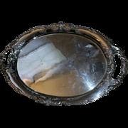 Japanese Okubo Sterling Silver (950) Large Tray/Platter