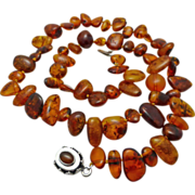 Genuine Natural Baltic Amber Necklace