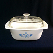 Corning Ware Cornflower 4 Quart Dutch Oven
