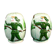 Batlin Jack And Beanstalk Pixie Ceramic Salt Pepper Range Shakers