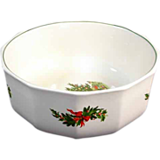 Pfaltzgraff Christmas Heritage Big Salad Serving Bowl