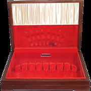 Oneida Community Silverware Box Flatware Storage Chest