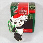 Hallmark 1990 Child's Fourth Christmas Ornament