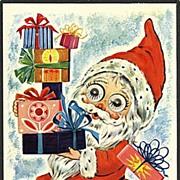 """""""Heavy loaded Santa""""  (1974)"""