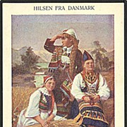 """Greetings from Denmark""  (1910')"