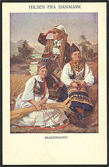 """""""Greetings from Denmark""""  (1910')"""