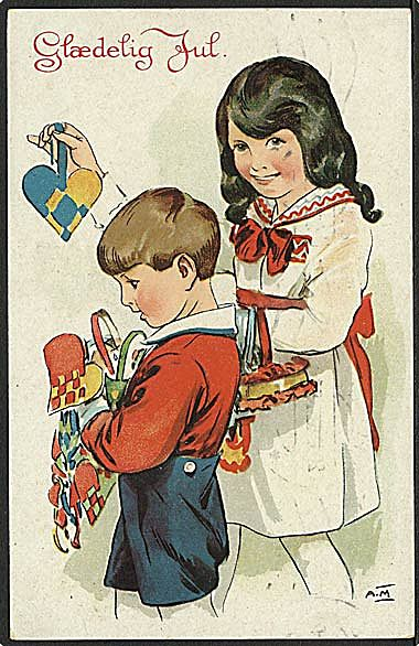 """""""Sorting out the Christmas Decoration""""  (1930)"""