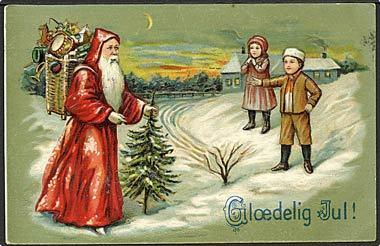 """""""Father Christmas""""  (1908)"""