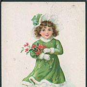 """""""Girl in Green""""  (1921)"""