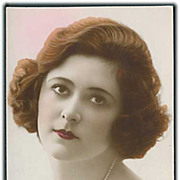 """""""French Glamour Lady  1""""  (1930')"""