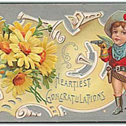 """Heartiest Congratulations""  (1910')"