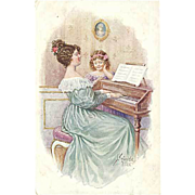 """""""Piano Lessons""""  (1919)"""