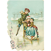 """Skating on Ice""  (1910')"