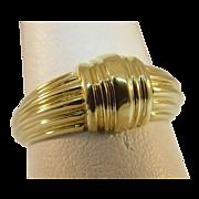 14 Karat Yellow Gold Twist Ring