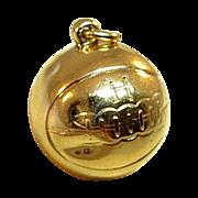 10 Karat Yellow Gold Basketball