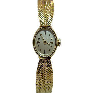 Ladies 14 Karat Yellow Gold Concord Watch