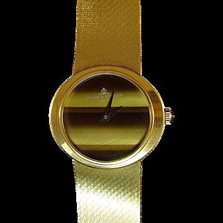 Lady's 18 Karat Baume and Mercier Wristwatch