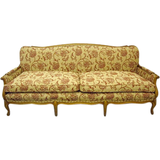 Vintage French Style Sofa