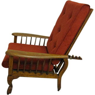 Antique Morris Recliner Style Chair