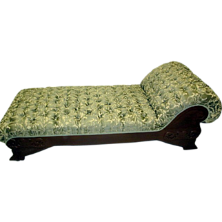Early 1900's Fainting Couch or Chaise Lounger