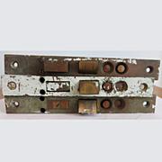 Vintage Russwin Door Mortise Mechanisms Set of 3