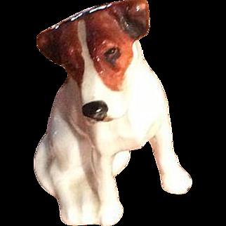Royal Doulton Miniature Foxhound K7 Dog Bone China Figurine