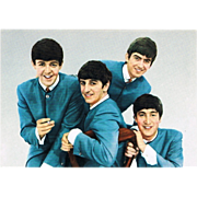 The Beatles: Early Vintage Postcard