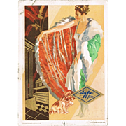 Advertising Postcard for Agfa, 1929